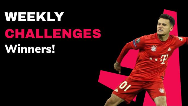 weekly challenges winners