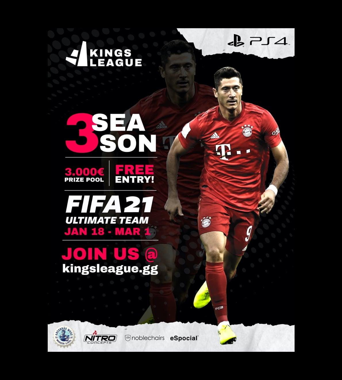 kingsleague season 3 poster
