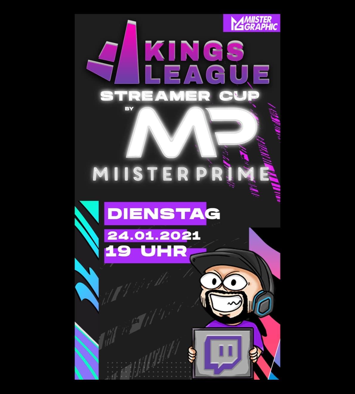 kingsleagues streamer cup by Miister prime