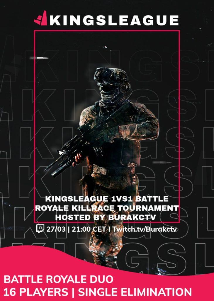 1vs1 Battle Royale Duo Tournament by BurakcTV