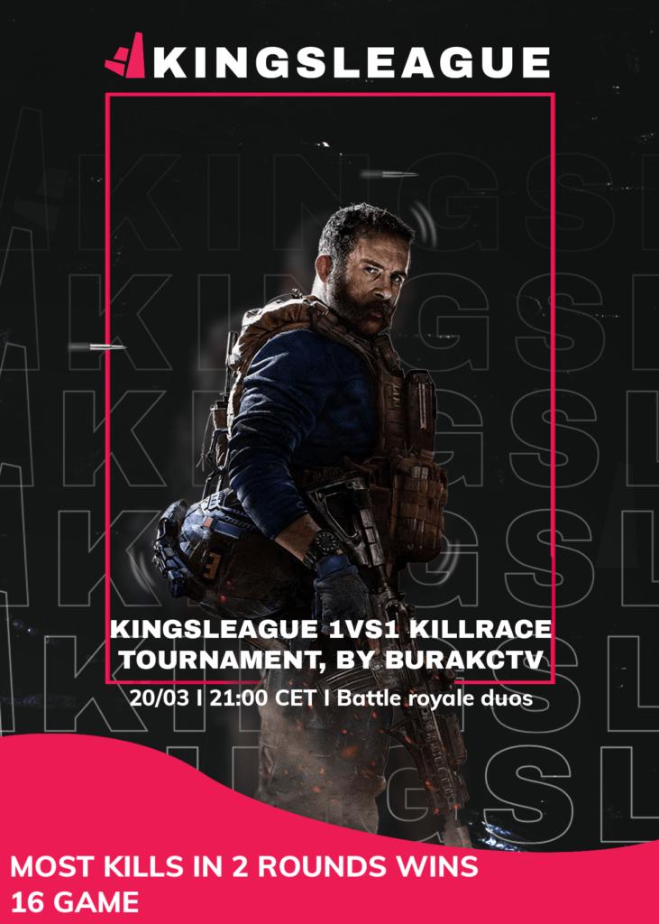 Burack's Warzone tournament in Kingsleague