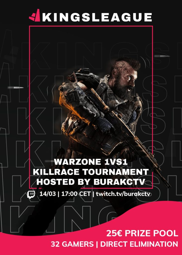 Kingsleague Warzone tournament hosted by Burakc