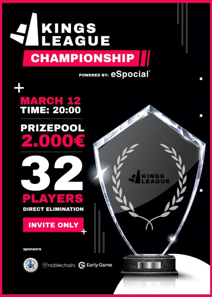 The kingsleague Championship - a fut tournament by gamers for gamers