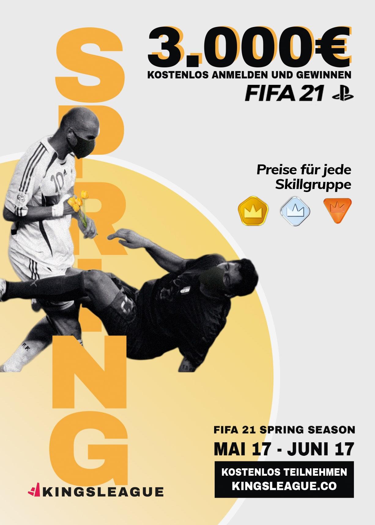 Kingsleague's FIFA 21 Spring Season