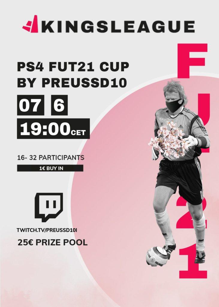 Preussd10's FUT 21 Cup 07.06.2021 1 € Buy In