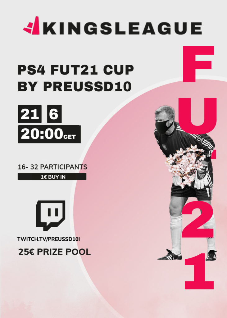 Preussd10 FUT 21 Cup 21.06.2021 1 € Buy In